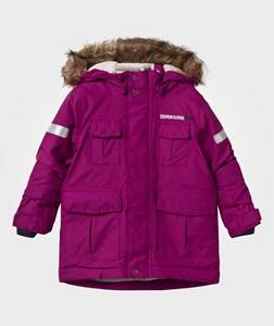 Didriksons Girls Childrens Clothes Coats and jackets Purple Nokosi Kid