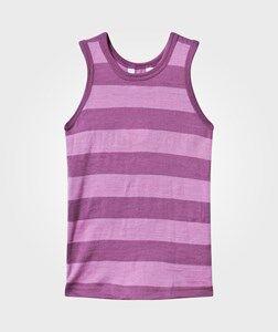 Joha Girls Childrens Clothes Underwear Pink Tank Top Block Stripe Pink