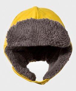 Didriksons Unisex Childrens Clothes Headwear Yellow Biggles Cap Sunburst