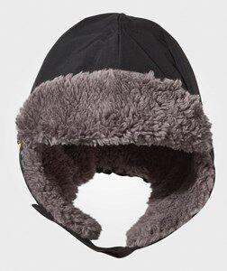 Didriksons Unisex Childrens Clothes Headwear Black Biggles Cap Black