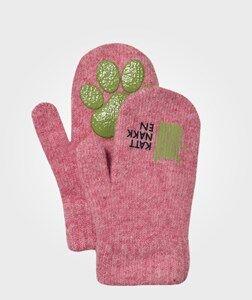 Kattnakken Girls Childrens Clothes Gloves and mittens Pink Magic Wool Mittens Pink
