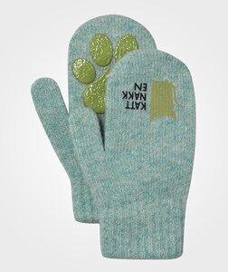 Kattnakken Boys Childrens Clothes Gloves and mittens Blue Magic Wool Mittens Blue