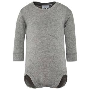 eBBe Kids Unisex Childrens Clothes All in ones Grey Emmet Baby Body Grey Melange