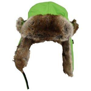 Isbjörn Of Sweden Unisex Childrens Clothes Headwear Green Squirrel Cap Lemonade