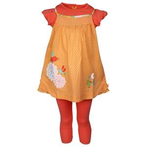 Image of Catimini Girls Childrens Clothes Dresses Dress Apricot