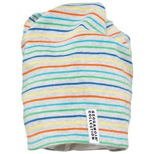 Geggamoja Unisex Childrens Clothes Headwear Multi Topline Multi Grey