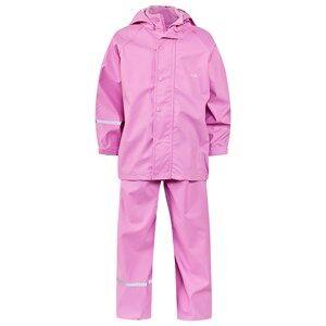Celavi Girls Childrens Clothes Clothing sets Pink Basic Rain Set Cyclamen