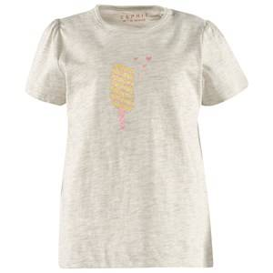 Esprit Unisex Childrens Clothes Tops Grey Eis T-Shirt Light Grey