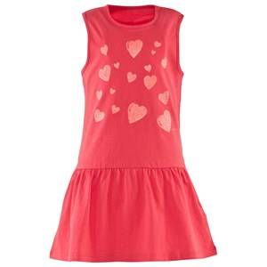 Image of Esprit Girls Childrens Clothes Dresses Red Jersey Tank Dress Coral Red