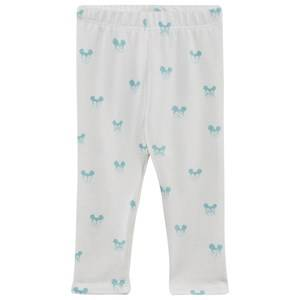 Soft Gallery Boys Childrens Clothes Bottoms White Paula Baby Leggings Blue Miki