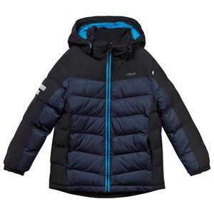 Lindberg Unisex Childrens Clothes Coats and jackets Navy Stoneham Jacket Navy