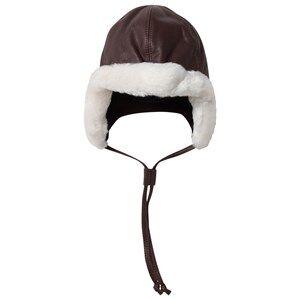 Lindberg Unisex Childrens Clothes Headwear Brown Ida Hat Brown