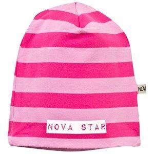 Nova Star Unisex Childrens Clothes Headwear Pink Beanie Striped Pink