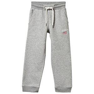 Gant Boys Childrens Clothes Bottoms Grey Sweat Pants Grey