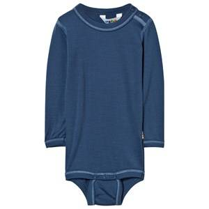 Joha Unisex Childrens Clothes All in ones Blue Baby Body Solid Blue