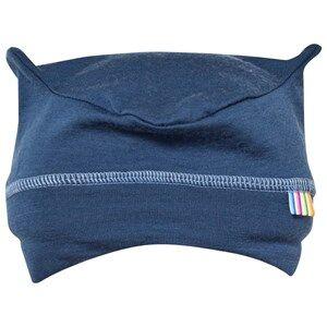 Joha Unisex Childrens Clothes Headwear Blue Hat Solid Blue