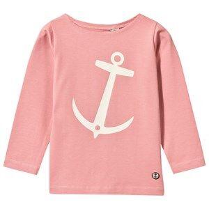 Emma och Malena Unisex Tops Nisse T-Shirt Old Pink