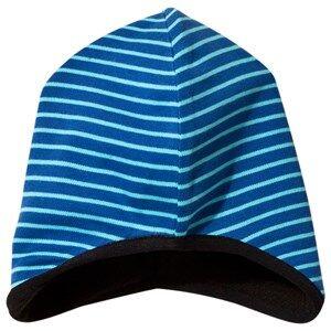 Geggamoja Boys Childrens Clothes Headwear Blue Beanie Blue/Turquoise