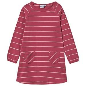 eBBe Kids Girls Childrens Clothes Dresses Pink Dress Allegra Stripe Autumn Rose/ Offwhite