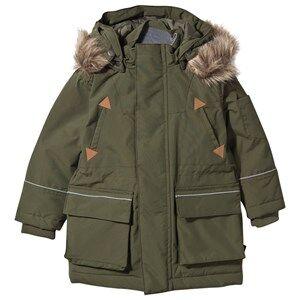 eBBe Kids Unisex Coats and jackets Green Oneil Winter Parkas Mossgreen