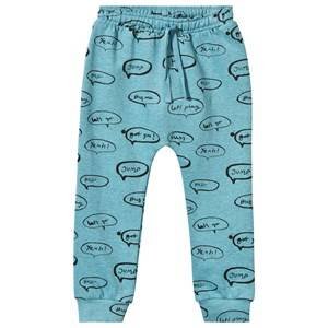 Soft Gallery Unisex Childrens Clothes Bottoms Blue Meo Sweat Pants Cameo Blue