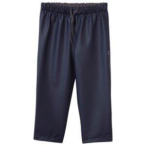 Didriksons Unisex Childrens Clothes Bottoms Navy Midjeman Kid