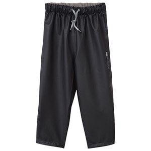 Didriksons Unisex Childrens Clothes Bottoms Black Midjeman Kid