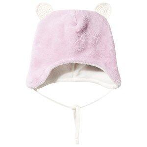 Reima Girls Childrens Clothes Headwear Pink Leo Baby Beanie Rose