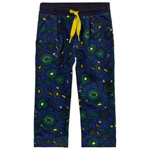 Kenzo Girls Childrens Clothes Bottoms Blue Anoushka Sweat Pants Midnight Blue