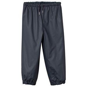 Mini A Ture Unisex Childrens Clothes Bottoms Blue Robin Lined Rain Pants Ombre Blue