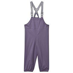 Mini A Ture Unisex Childrens Clothes Bottoms Purple Rubi Rain Pants Purple Heart