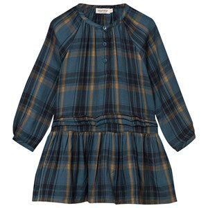 MarMar Copenhagen Girls Childrens Clothes Dresses Blue Dress Dinah Legion Blue Check