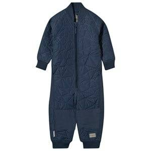 MarMar Copenhagen Unisex Childrens Clothes All in ones Blue Oz Coverall Thermo Midnight Navy