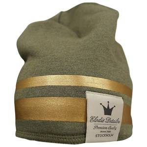 Elodie Details Unisex Childrens Clothes Headwear Green Winter Beanie - Gilded Green