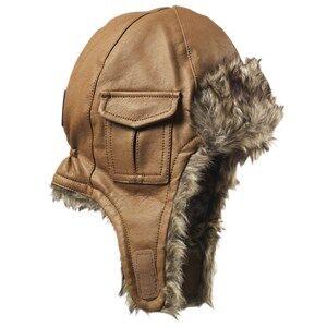 Elodie Details Unisex Childrens Clothes Headwear Brown Cap Chestnut Leather