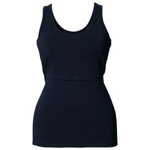 Boob Girls Maternity Clothes Maternity tops Blue Classic Singlet Midnight Blue