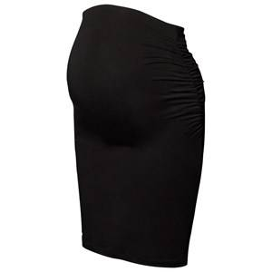 Boob Girls Maternity Clothes Maternity bottoms Black Once-On-Never-Off Ruched Skirt Black