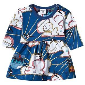 Modéerska Huset Girls Childrens Clothes Dresses Blue Baby Dress The Aviator