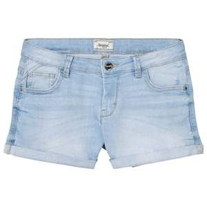 Mayoral Girls Shorts Blue Light Wash Denim Shorts