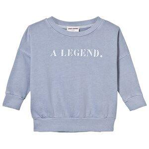 Bobo Choses Boys Jumpers and knitwear Blue B.C. Team Sweatshirt Cloud Blue
