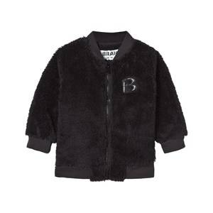 The BRAND Unisex Private Label Fleeces Black Baby Teddy Bomber Black