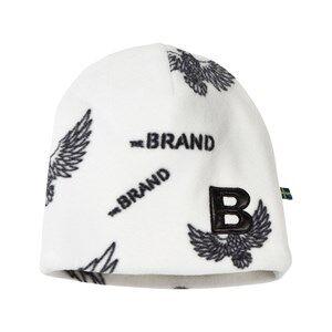 The BRAND Unisex Private Label Headwear White Fleece Hat Off White Eagles