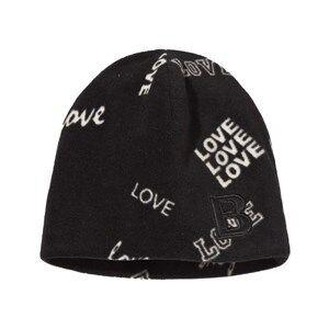 The BRAND Unisex Private Label Headwear Black Fleece Hat Black Love