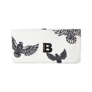 The BRAND Unisex Private Label Headwear White Fleece Headband Off White Eagles
