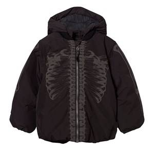 Image of Molo Unisex Childrens Clothes Coats and jackets Multi Hadar Jacket Skulls Reflective