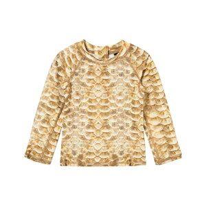Molo Unisex Swimwear and coverups Gold UV-Top Nemo Gold Fishshell