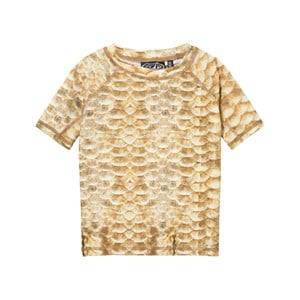 Image of Molo Unisex Swimwear and coverups Gold Neptune Top Gold Fishshell