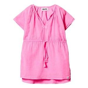 Image of Molo Girls Swimwear and coverups Pink Caly Dress Knockout Pink