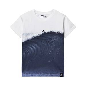 Molo Boys Tops Multi Rusky T-shirt Big Wave