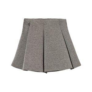 Molo Girls Skirts Grey Bell Skirt Grey Melange